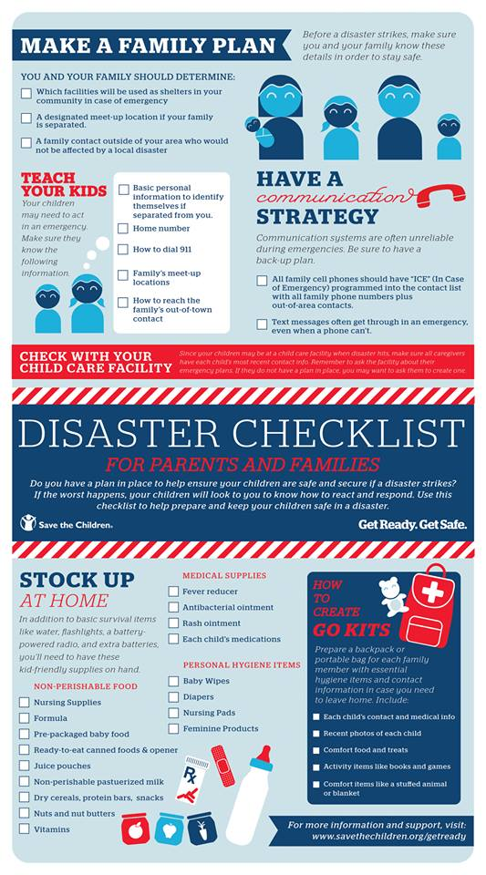 Disaster Preparedness Tips The Naughty Mommy