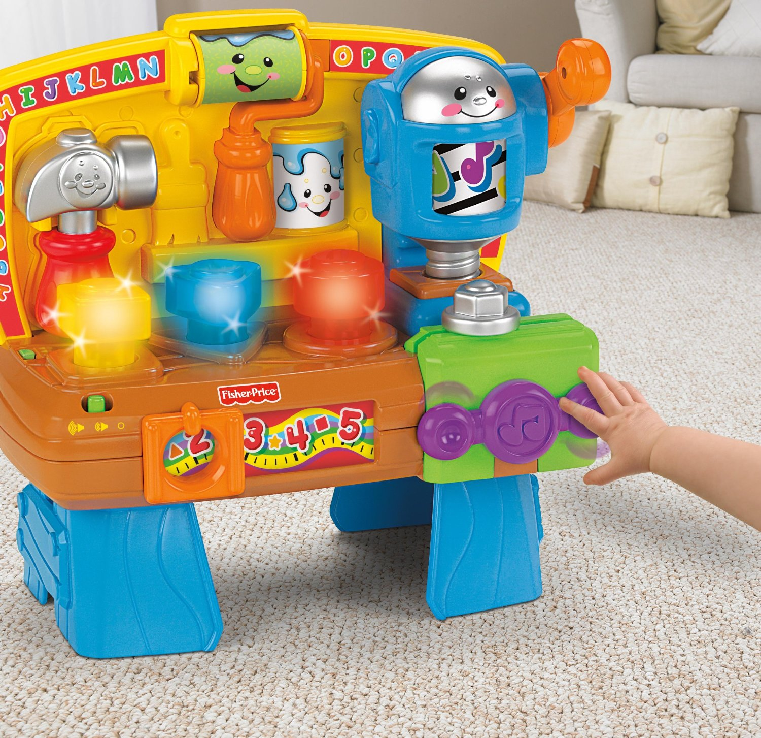 Holiday gift guide babies the naughty mommy Fisher price tool bench