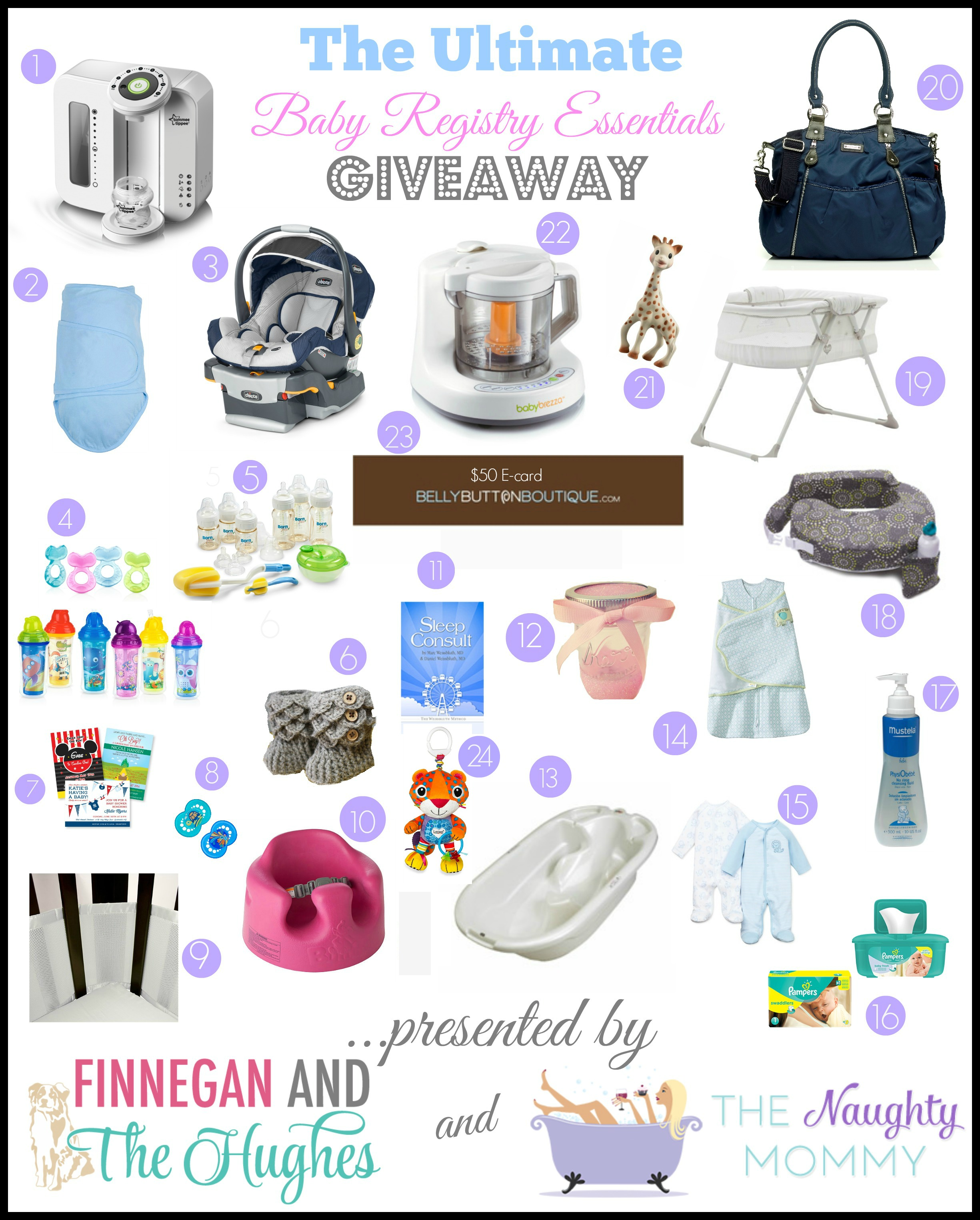 Baby Registry Essentials Giveaway1 The Ultimate Baby Registry Essentials Giveaway
