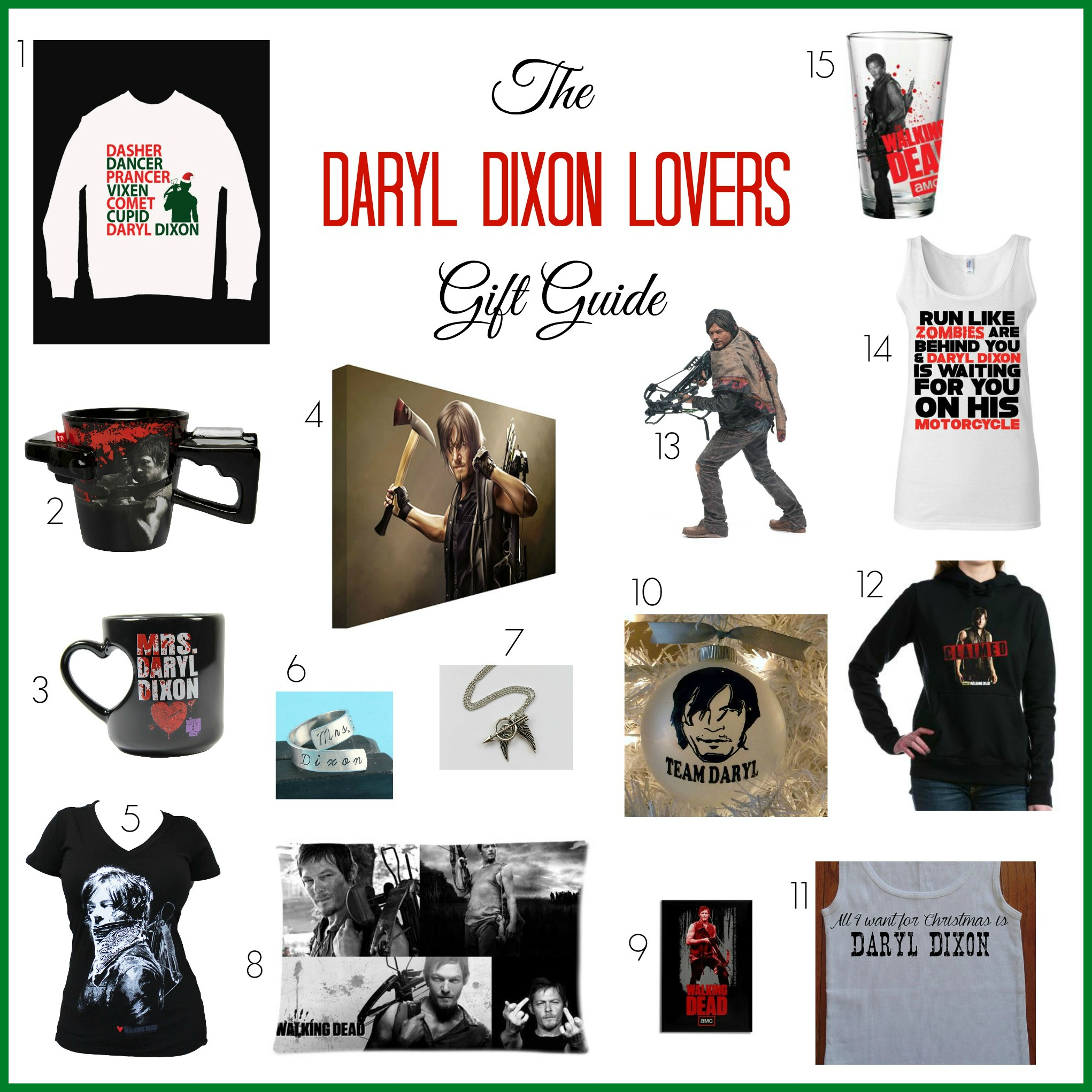 The Daryl Dixon Lovers Gift Guide - The Naughty Mommy