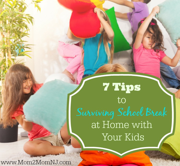 Surviving School Break at Home with Your Kids