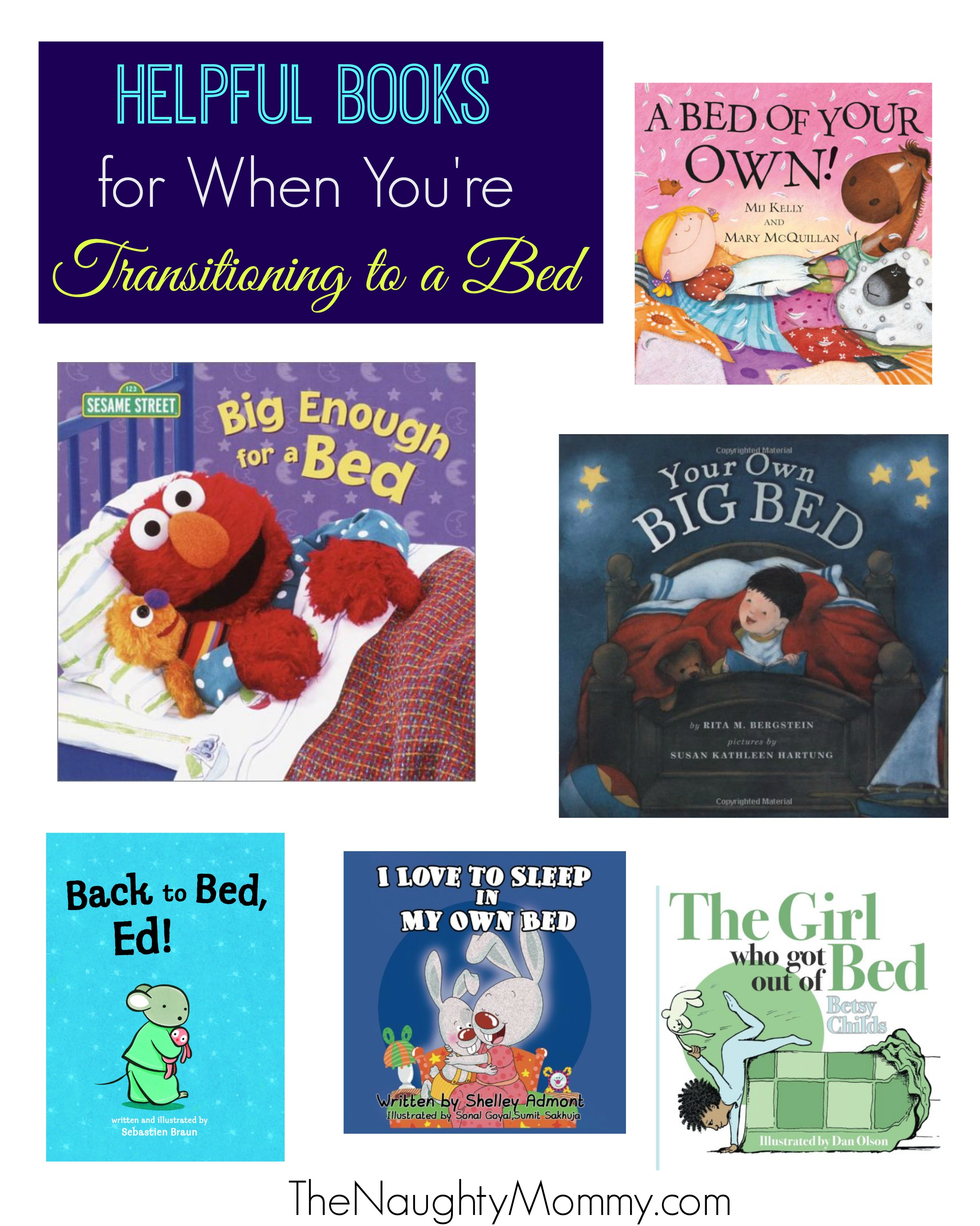 Helpful Books For Transitioning To Toddler Bed From Crib