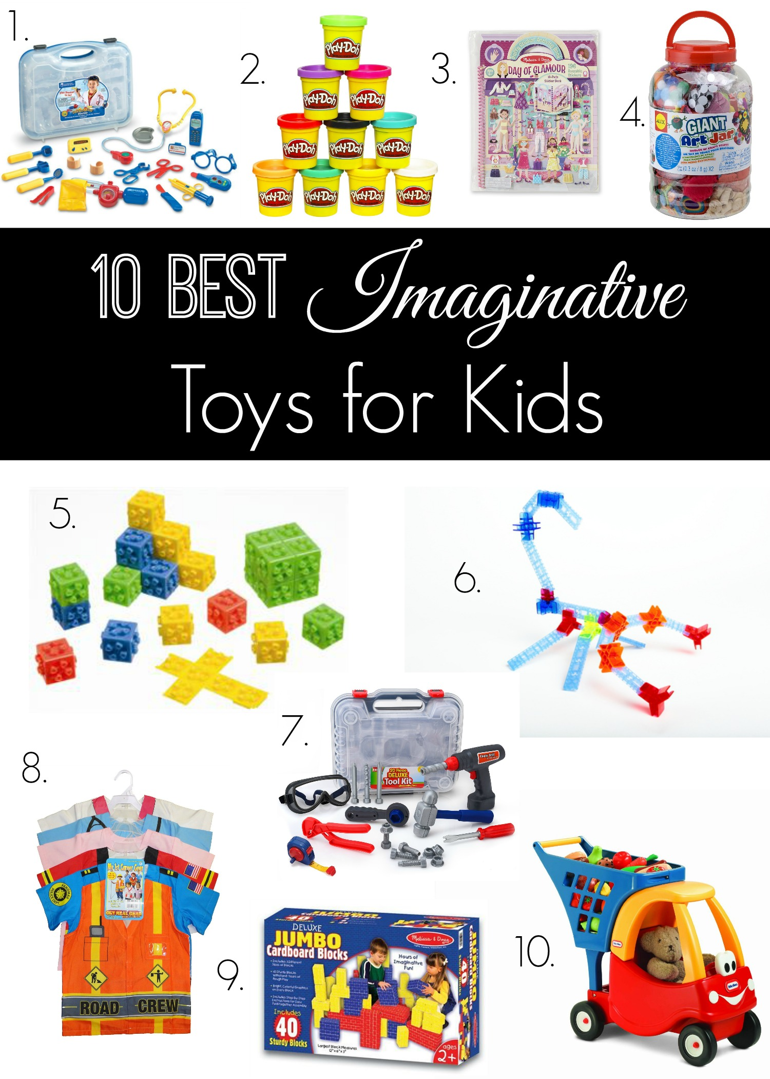 10 Best Imaginative Toys for Kids The Naughty Mommy