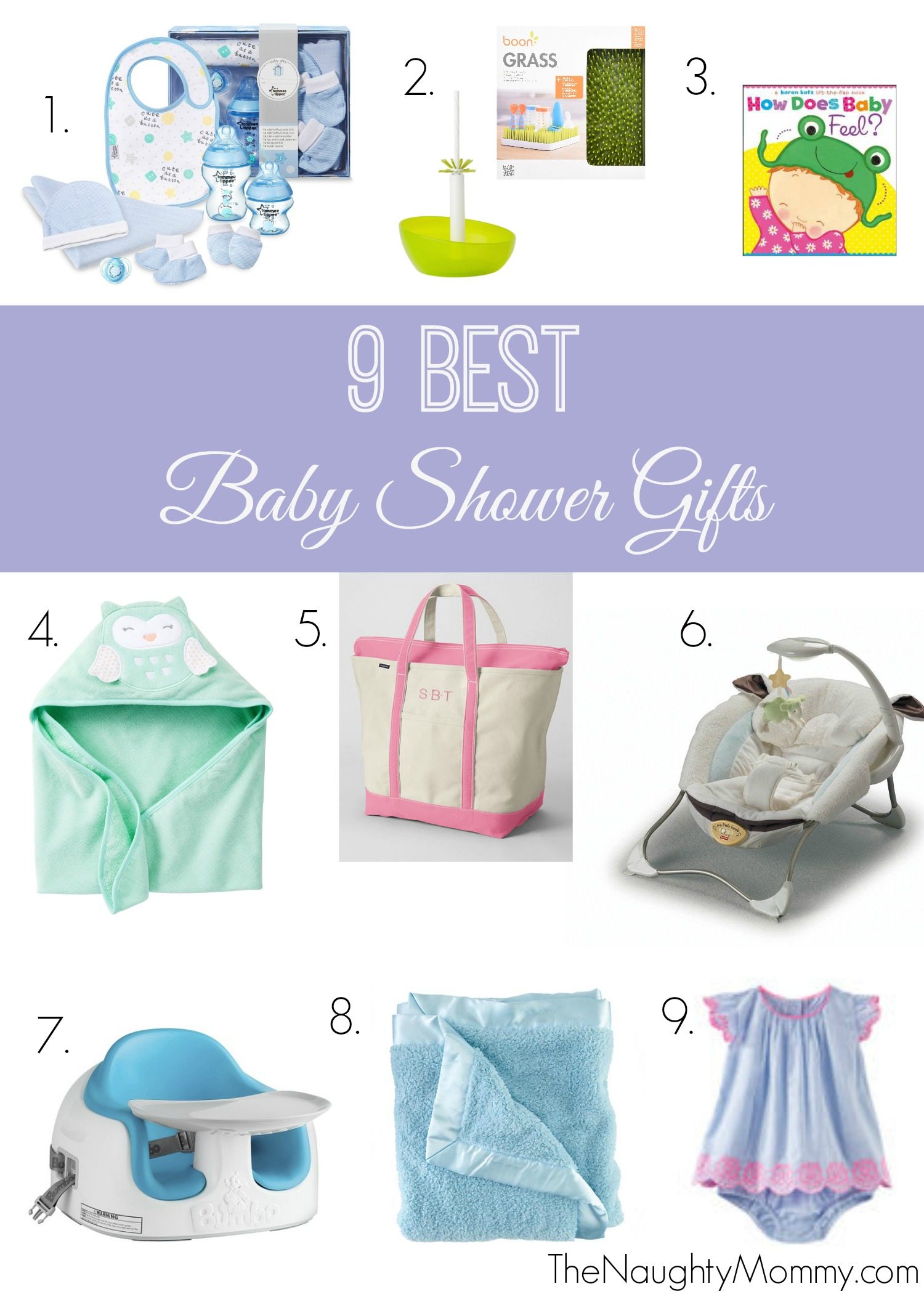 9 Best Baby Shower Gifts - The Naughty Mommy
