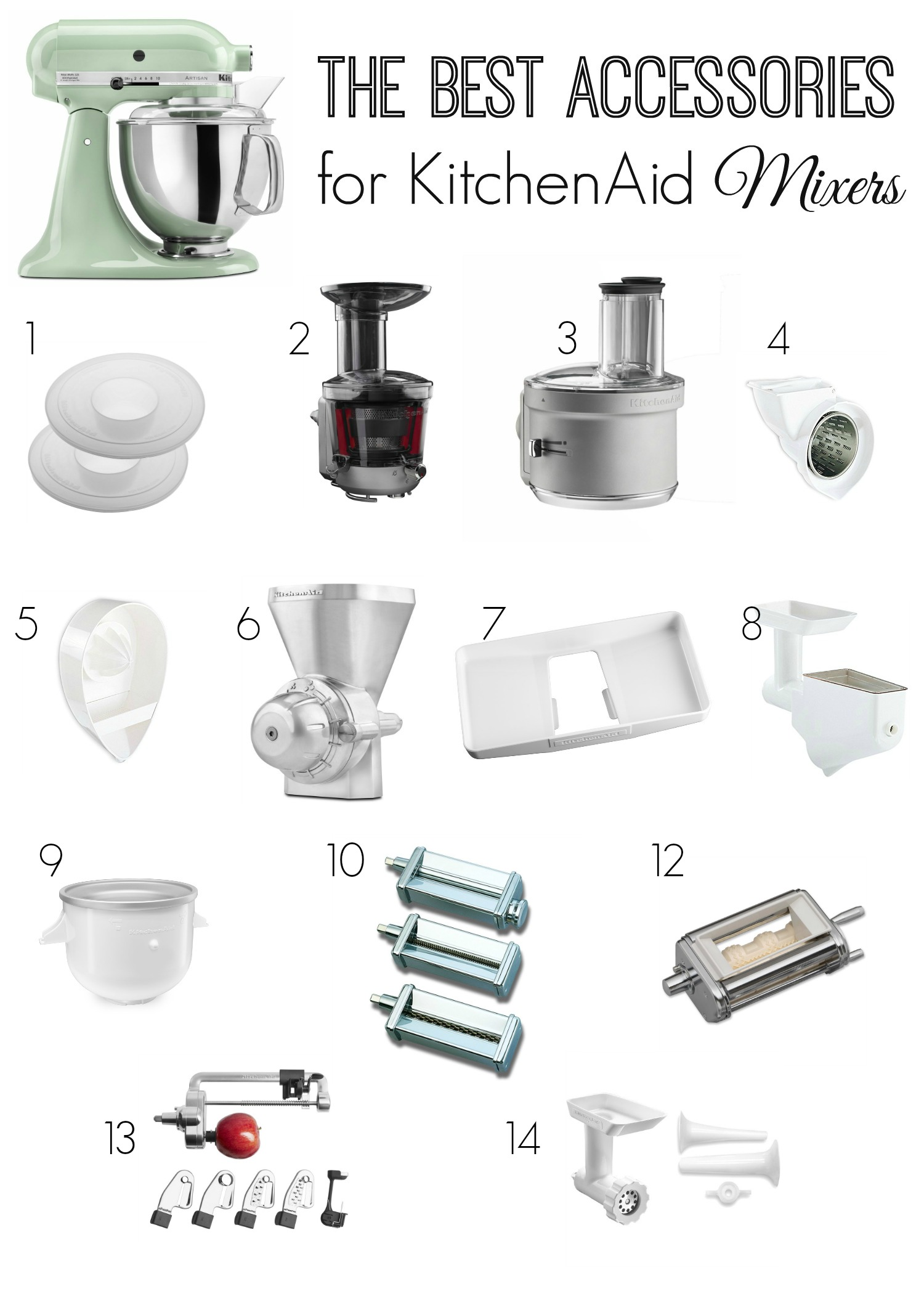 kitchen aid stand mixer accessories best accessories for kitchenaid mixers the 7642